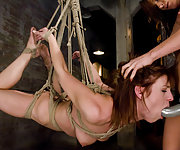 Suspension, strapon sex, whipping, ass licking